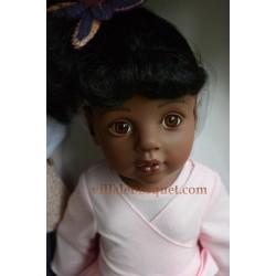 GÖTZ POUPEE HANNAH VA AU BALLET POUPEE AFRO-AMERICAINE - poupée à jouer GÖTZ