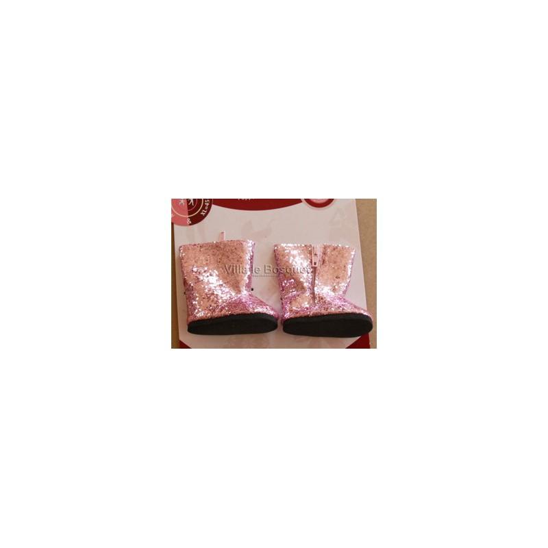 GÖTZ BOTTES A PAILLETTES POUR POUPEES - chaussures Götz pour poupées
