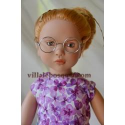 GÖTZ LUNETTES RONDES DE POUPEE - accessoire Götz pour poupées