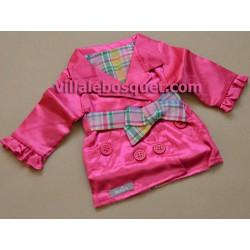 WE GIRLS LONGUE VESTE DE SATIN - vêtement We Girls pour poupées