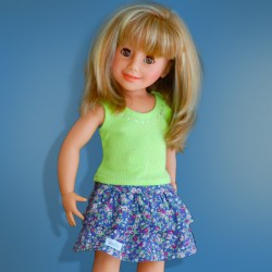 WE GIRLS TANK-TOP VERT - vêtement WeGirls pour poupées