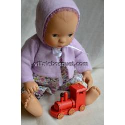 LOCOMOTIVE A VAPEUR DECO - accessoires de poupées