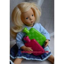 BOUILLOTTE EN PLASTIQUE - accessoires de poupées
