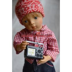 TRANSISTOR EN PLASTIQUE - accessoires de poupées