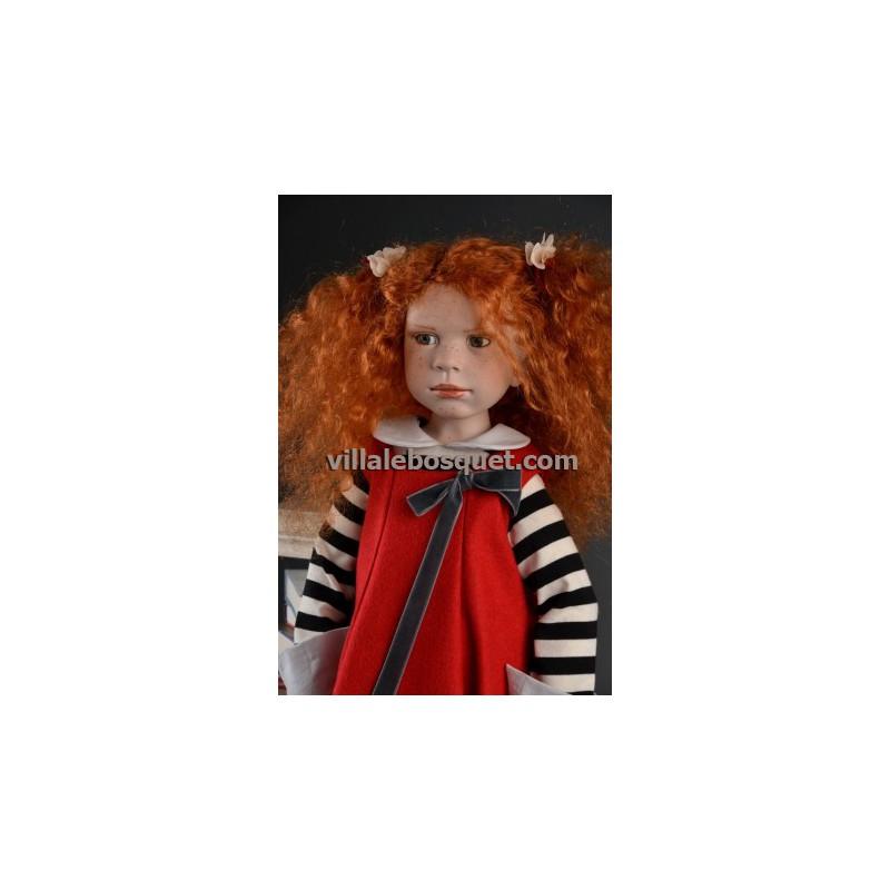 ZWERGNASE POUPEE VITTORIA - poupée d'artiste Zwergnase