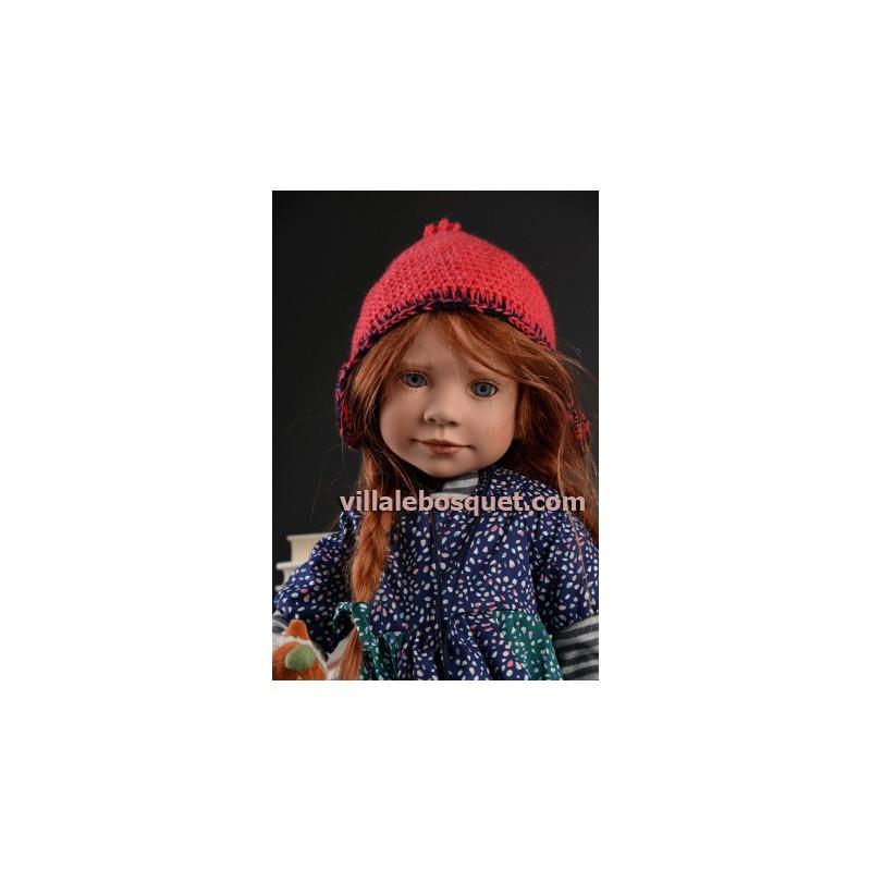 ZWERGNASE POUPEE RICKSTINE - poupée d'artiste Zwergnase