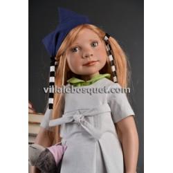 ZWERGNASE POUPEE JOSEFA - poupée d'artiste Zwergnase