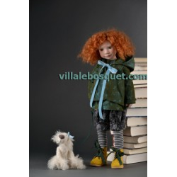 ZWERGNASE POUPEE NIKA - poupée d'artiste Zwergnase