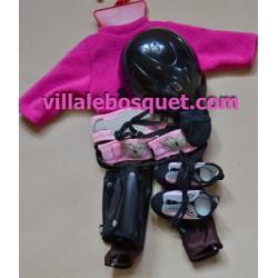 GÖTZ SET DE VETEMENT SPORT - vêtement Götz pour poupées