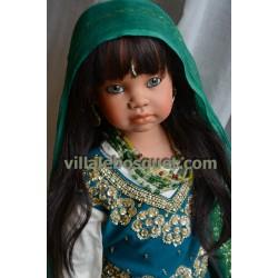 ANGELA SUTTER POUPEE AMALA - poupée d'artiste unique d'Angela Sutter
