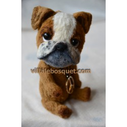 PELUCHE BOULEDOGUE - peluche de collection