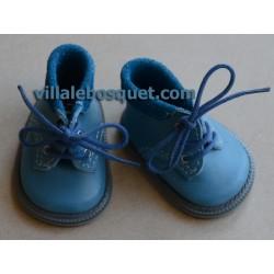 CHAUSSURES WAGNER EN CUIR PETROL BOOTS - chaussures de poupées