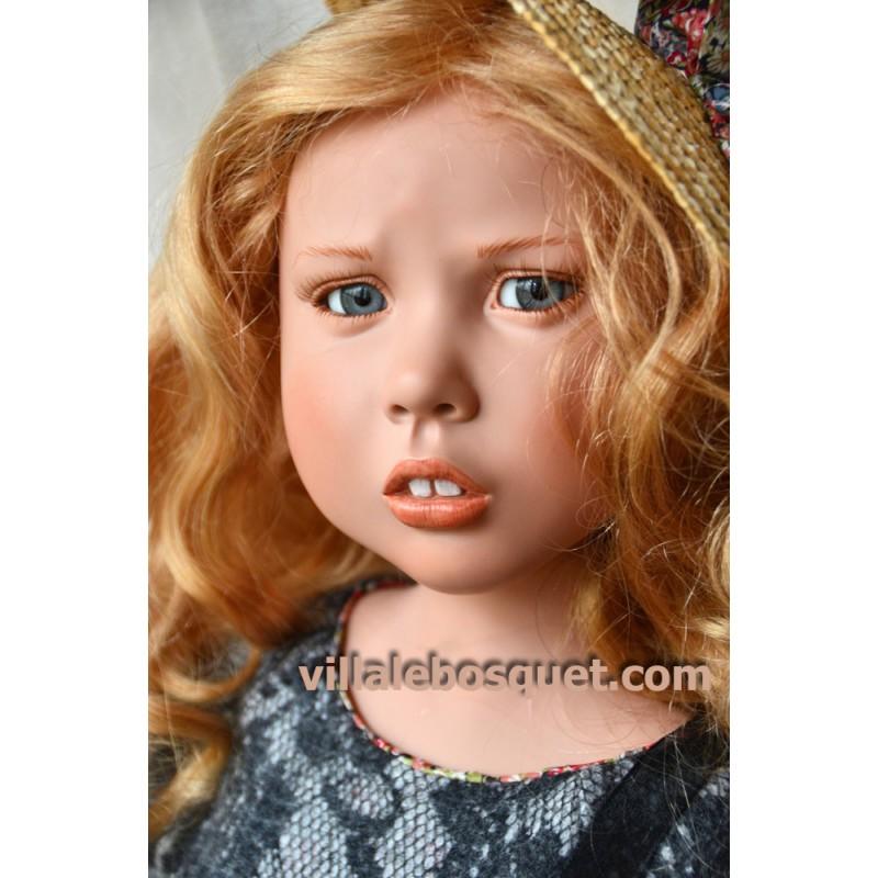 ZWERGNASE POUPEE MAFALDA - poupée d'artiste Zwergnase
