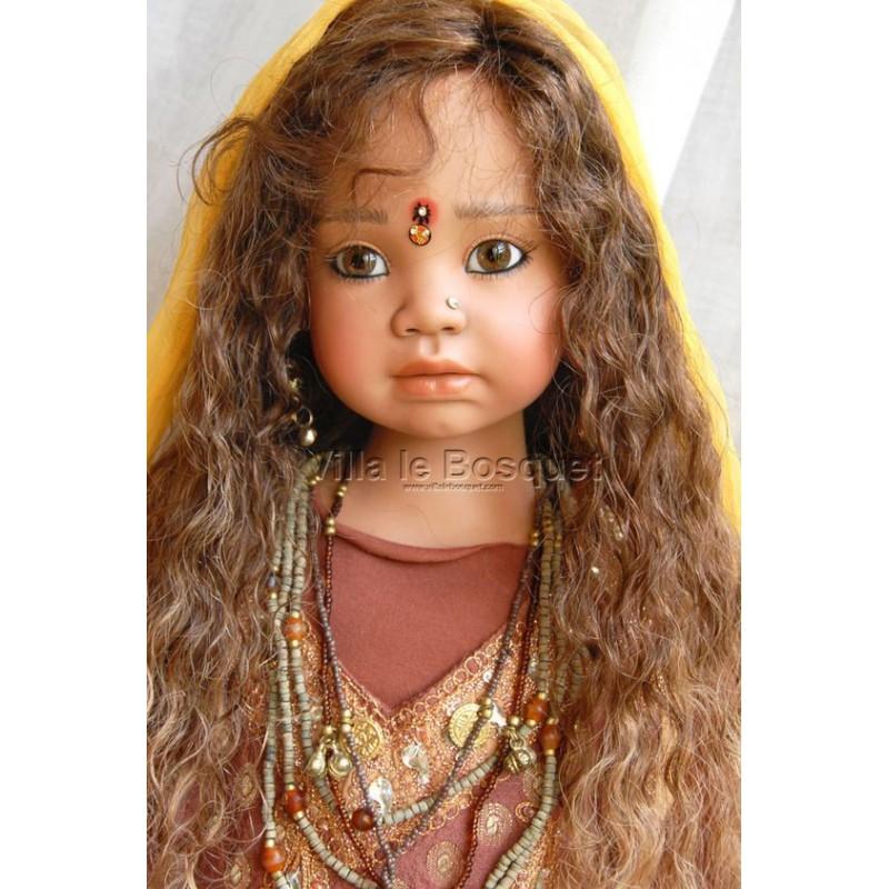 ANGELA SUTTER POUPEE SHARADA - poupée d'artiste unique d'Angela Sutter