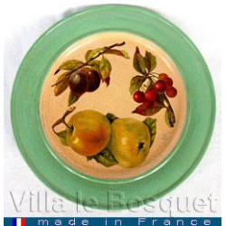 DECO MAISON ASSIETTE FRUITS...