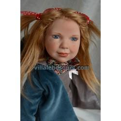 ZWERGNASE POUPEE LOUNA - poupée d'artiste Zwergnase