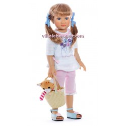 KIDZ 'N' CATS POUPEE ISABEL - poupée à jouer - With Heart & Soul