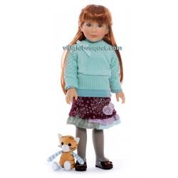 KIDZ 'N' CATS POUPEE JANA - poupée à jouer - With Heart & Soul