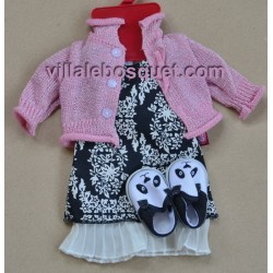 GÖTZ ROBE PANDA - vêtement Götz pour poupées