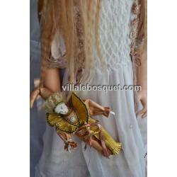 ZAWIERUSZYNSKI POUPEE UNIQUE WASSILISSA - poupée d'artiste Zawieruszynski