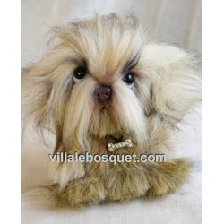 PELUCHE SHIH TZU - peluche de collection