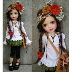 RESINE BJ-DOLL SOLACE - artistdoll made by Lorella Falconi