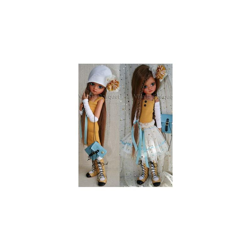 POUPEE BJD EN RESINE AMBER MOON - poupée de l'artiste Lorella Falconi