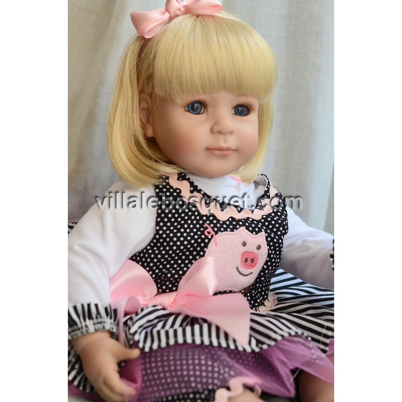 ADORA POUPEE LITTLE MISS PIGGY - poupée Toddler Adora