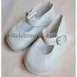 CHAUSSURES ADORA MARY JANE ECRUES - chaussures pour poupées Adora