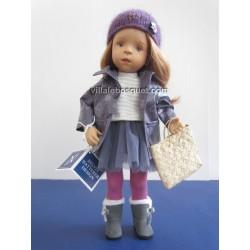 LA MINOUCHE CLODETTE - Poupée peinte par Sylvia Natterer-Studio doll
