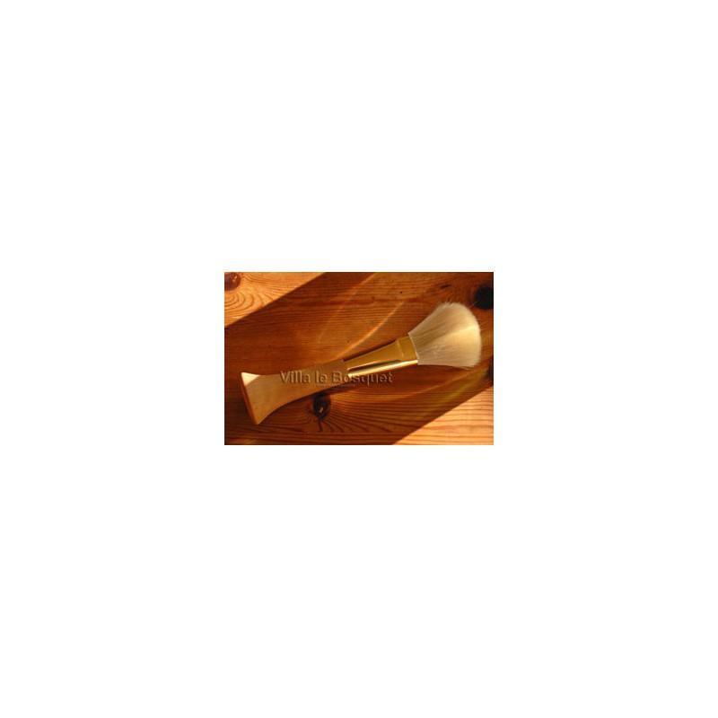 PINCEAU DE MAQUILLAGE - Pinceau en bois à poils de chèvre