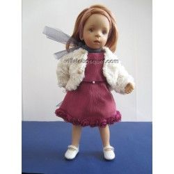 LA MINOUCHE CLAUDIA - Poupée peinte par Sylvia Natterer-Studio doll
