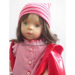 LA MINOUCHE SIMONE - Poupée peinte par Sylvia Natterer-Studio doll