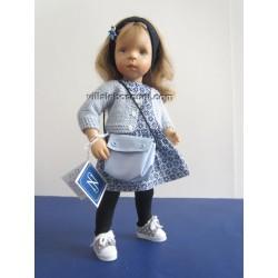 LA MINOUCHE MATHILDE - Poupée peinte par Sylvia Natterer-Studio doll