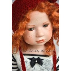 ZWERGNASE POUPEE LEONIDA - poupée d'artiste Zwergnase