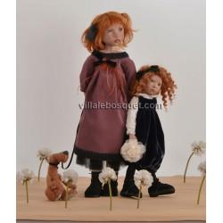 ZWERGNASE POUPEE SINJE - poupée d'artiste Zwergnase 2018