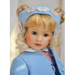 HEIDI PLUSCZOK POUPEE NINA - poupée de l'artiste Heidi Plusczok