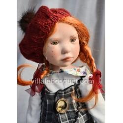 ZWERGNASE POUPEE ANJE - poupée d'artiste Zwergnase 2018