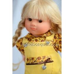 POUPEE MÜLLER WICHTEL MELINA - poupée de collection de Rosemarie Müller