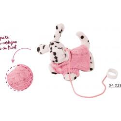 GÖTZ CHIOT DALMATIEN JAMES POUR POUPEES - vêtement Götz pour poupées