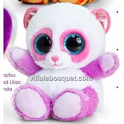 PELUCHE ANIMOTSU PANDA ROSE - peluche de Keel Toys
