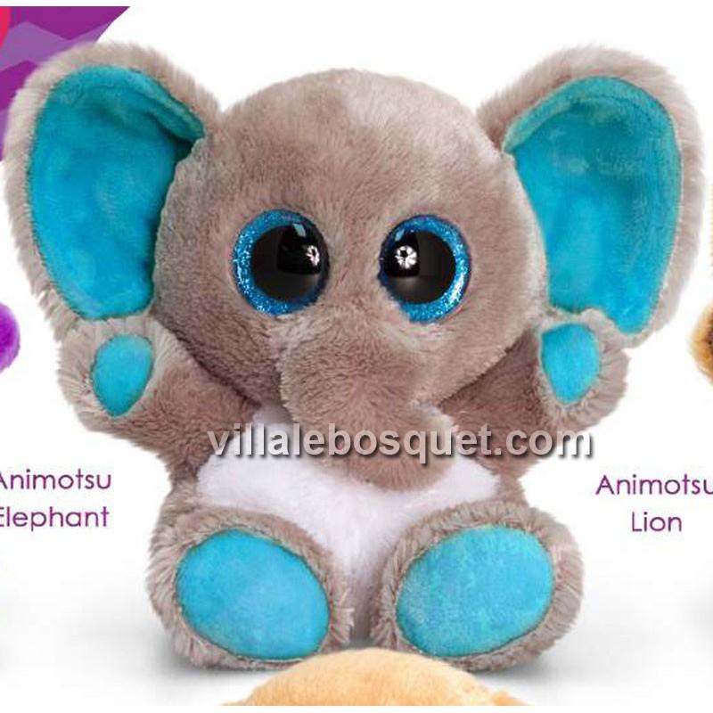 PELUCHE ANIMOTSU ELEPHANTEAU - peluche de Keel Toys
