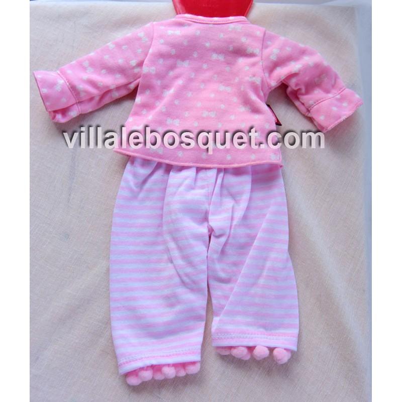 GÖTZ PYJAMA DE POUPEE - vêtement Götz pour poupées