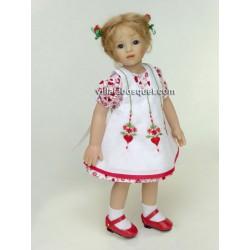 HEIDI PLUSCZOK POUPEE CARLA - poupée de l'artiste Heidi Plusczok