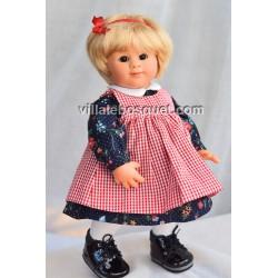 POUPEE MÜLLER WICHTEL VICKY - poupée de collection de Rosemarie Müller