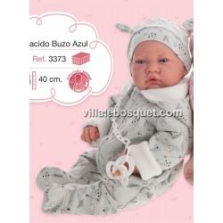 ANTONIO JUAN BEBE AZUL - poupée réaliste à jouer Antonio Juan