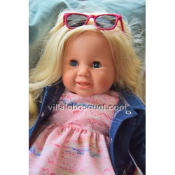 SCHILDKRÖT POUPEE KLARA BLONDE 18 - poupée à jouer fabriquée en Allemagne