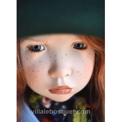 ZWERGNASE POUPEE PHILOMENE - poupée d'artiste Zwergnase 2018
