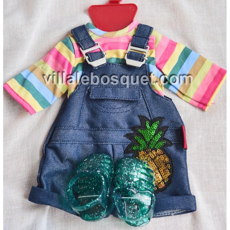 GÖTZ ENSEMBLE TROPIC - vêtement Götz pour poupées