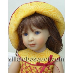 HEIDI PLUSCZOK POUPEE ELENI - poupée de l'artiste Heidi Plusczok